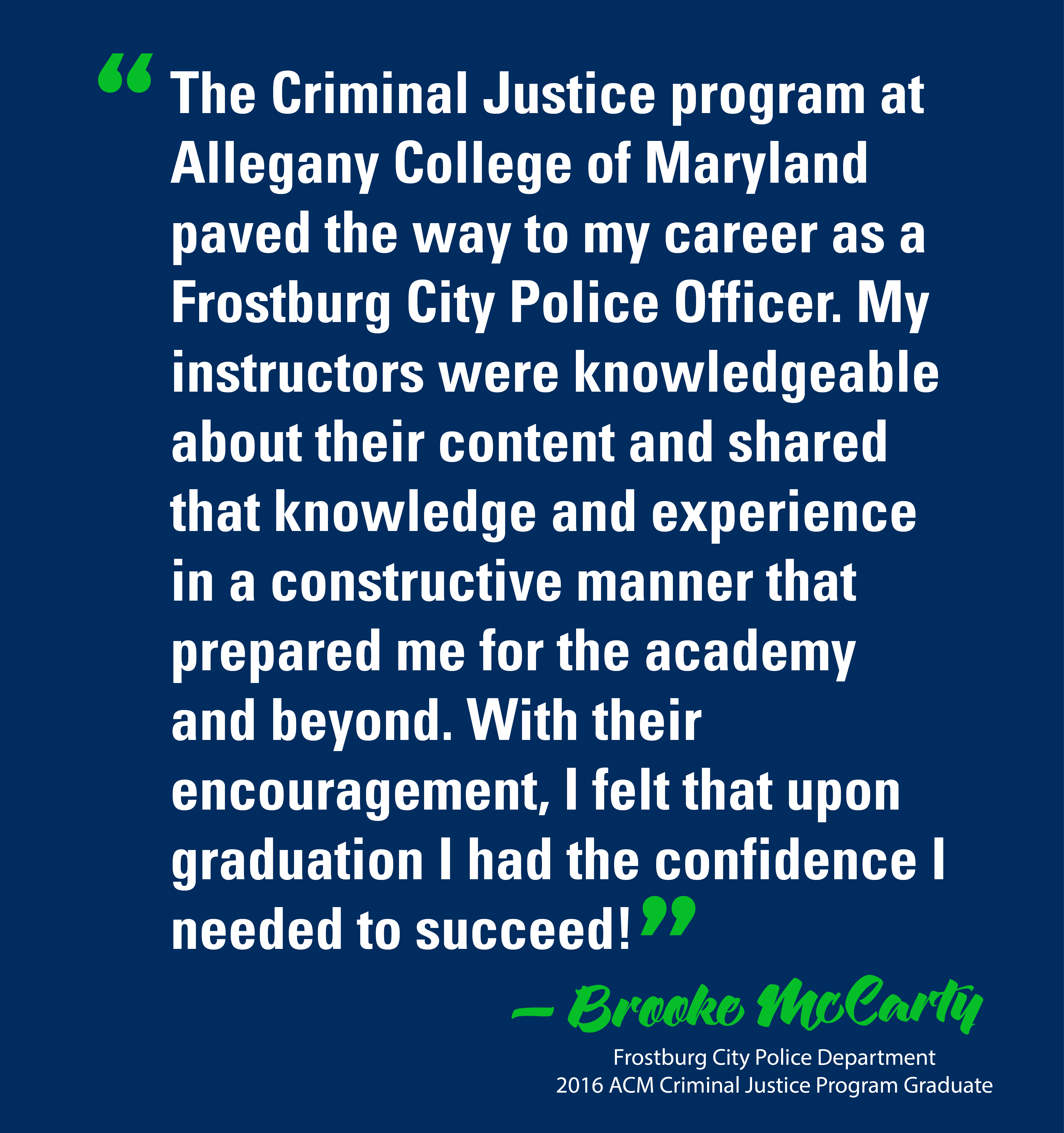 adjunct instructor vacancies maryland criminal justice