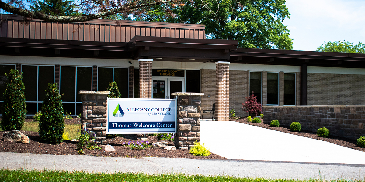 Allegany College of Maryland Thomas Welcome Center