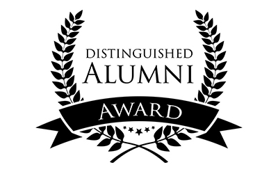 Alumni award graphic