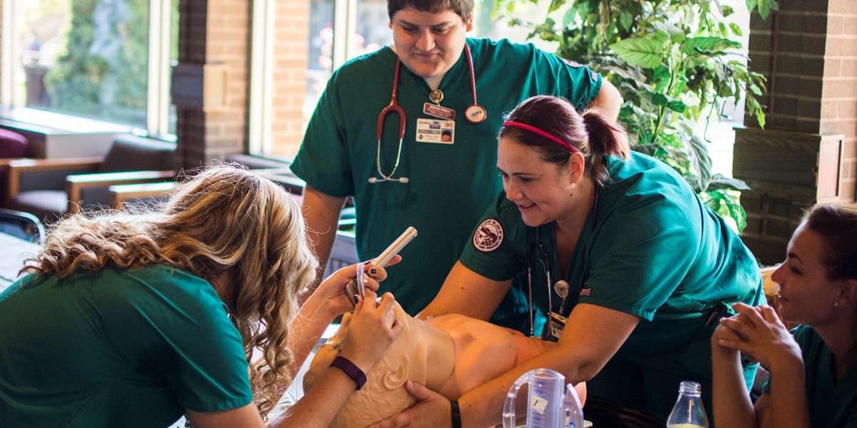Allegany College of Maryland Respiratory Therapy Students
