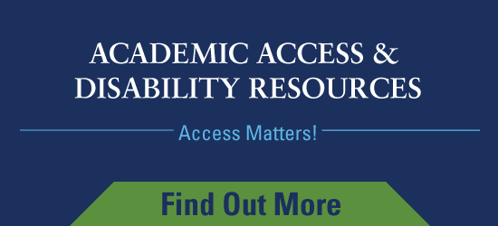 Academic Access and Disability Resources